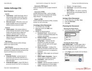 course Quick Guide for InDesign CS6