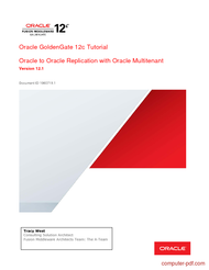 Tutorial Oracle GoldenGate 12c Tutorial