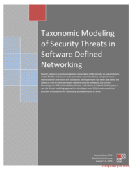 Tutorial Modeling of Security Threats in SDN
