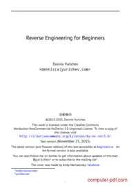 course Reverse Engineering for Beginners