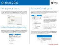 course Outlook 2016 - Quick Start Guide
