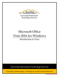 Tutorial Introduction to Visio 2016