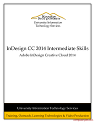 Tutorial InDesign CC 2014 Intermediate Skills