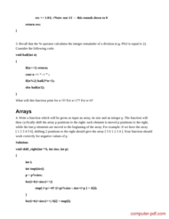 course C++ Practice Exercises with solutions