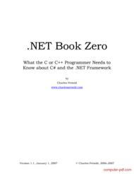 Tutorial .NET Book Zero