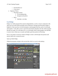 course New Features in Photoshop CS6 and Advanced Tools