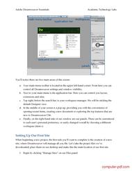 course Adobe Dreamweaver Essentials