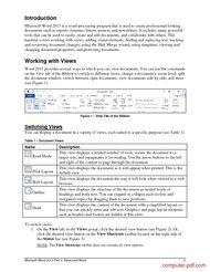 course Microsoft Word 2013 Part 3: Advanced