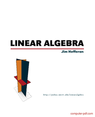 Tutorial An introduction to Linear Algebra