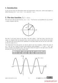 course Trigonometric functions