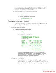 course Learning MS-DOS Basics Commands