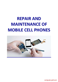 Tutorial Mobile Phone Repair and Maintenance