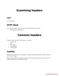 course HTTP Headers