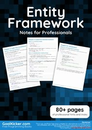Tutorial Entity Framework Notes for Professionals book