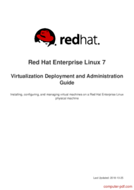 Tutorial Red Hat Enterprise Linux 7 Virtualization Deployment and Administration