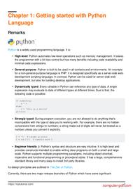 course Learning Python Language