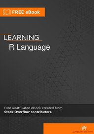 Tutorial Learning R language