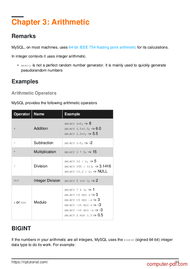 course Learning MySQL