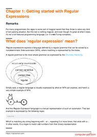 course Learning Regular Expressions
