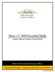 Tutorial Adobe Muse CC 2018 Essential Skills