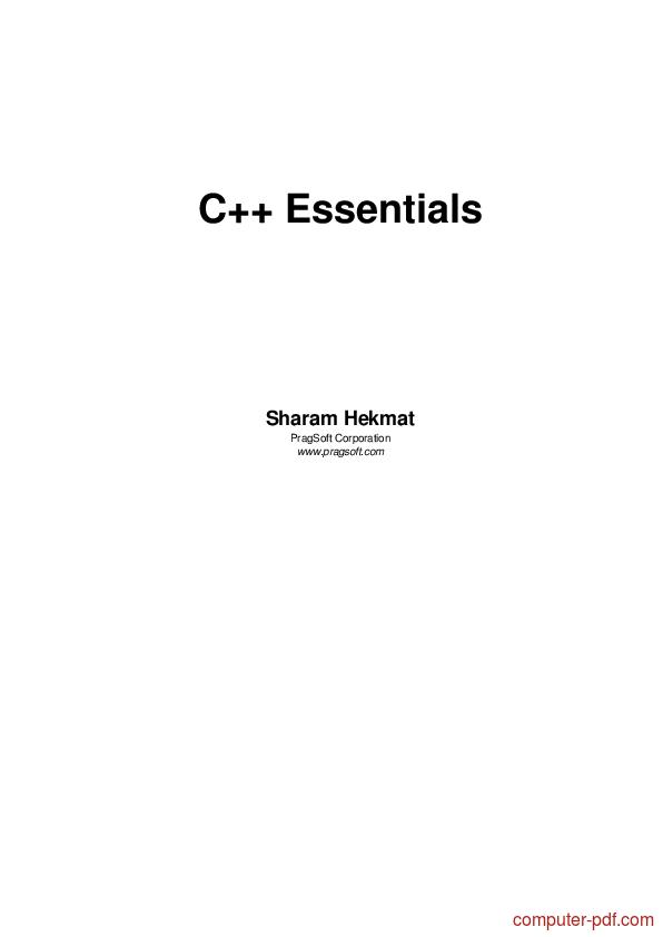 c++ programming for beginners pdf