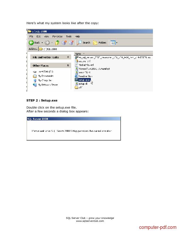 course SQL Server 2008