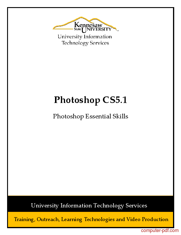 Tutorial Adobe Photoshop CS5 Essential Skills