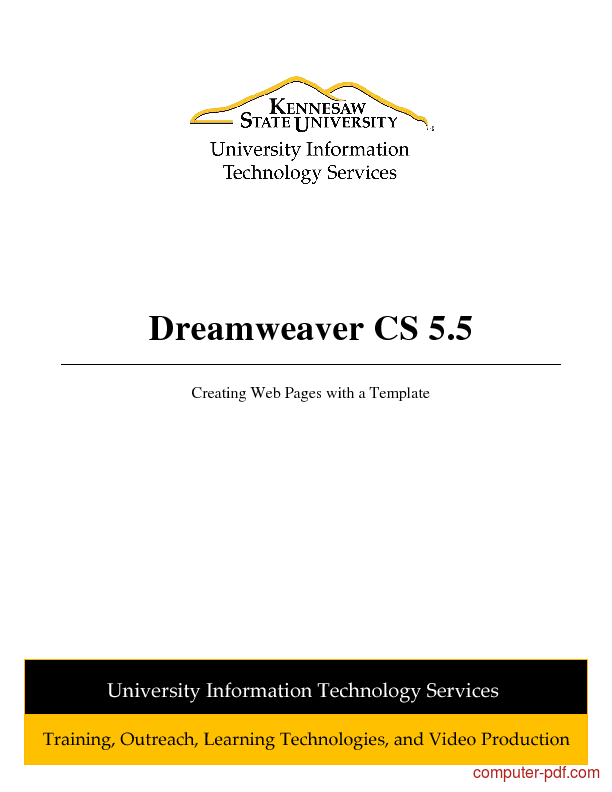 Tutorial Adobe Dreamweaver CS5
