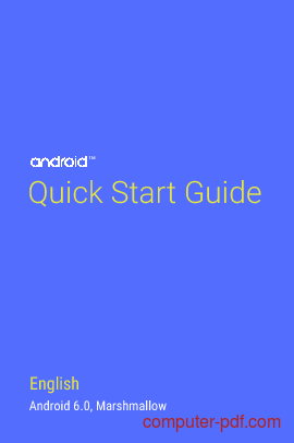 Tutorial Android 6.0 Marshmallow - Quick Start Guide 1
