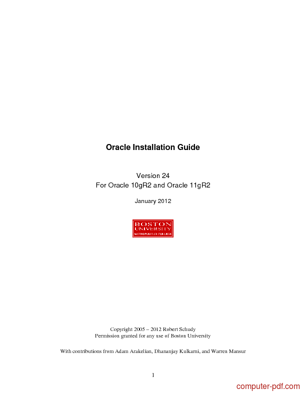 Tutorial Oracle 10g R2 and 11g R2 Installation Guide 1