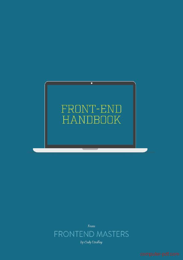 Tutorial Front-End Developer Handbook 1