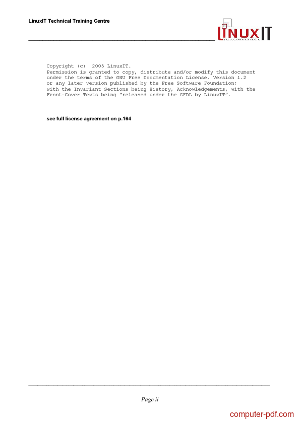 course Linux System Administration 1 (LPI 101)