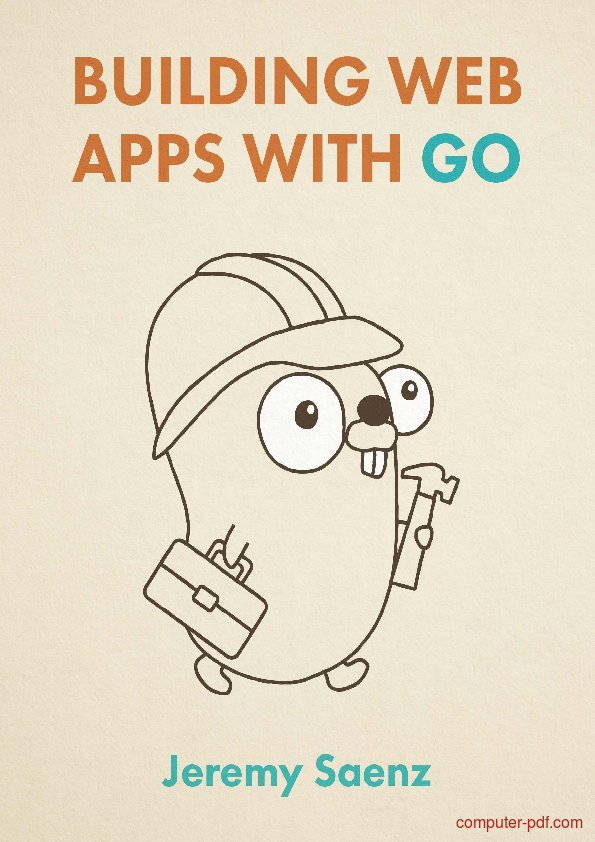 Tutorial Building Web Apps with Go 1