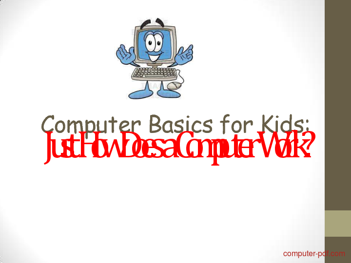 Tutorial Computer Basics for Kids 1