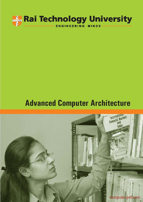Tutorial Advanced Computer Architecture 1