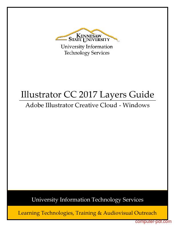Tutorial Illustrator CC 2017 Layers Guide 1