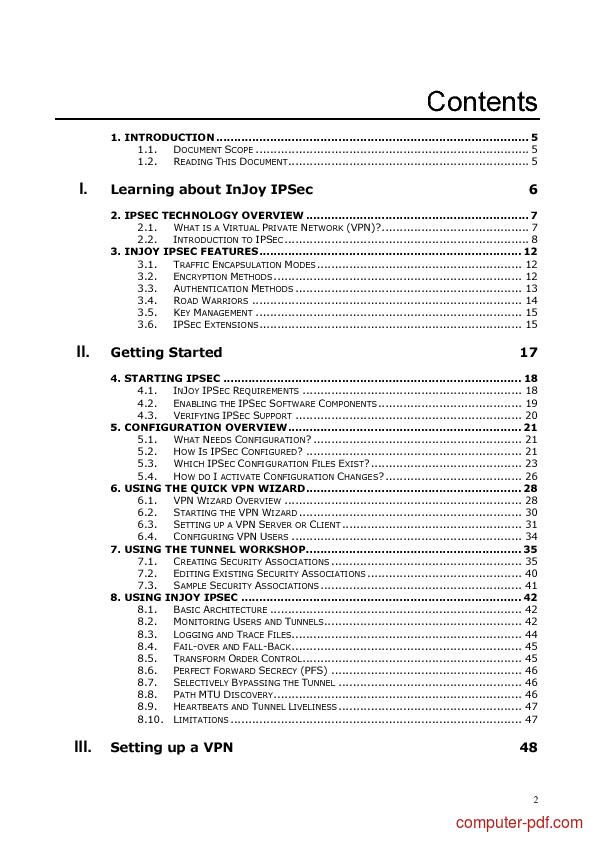 Tutorial IPSec VPN Guide 2