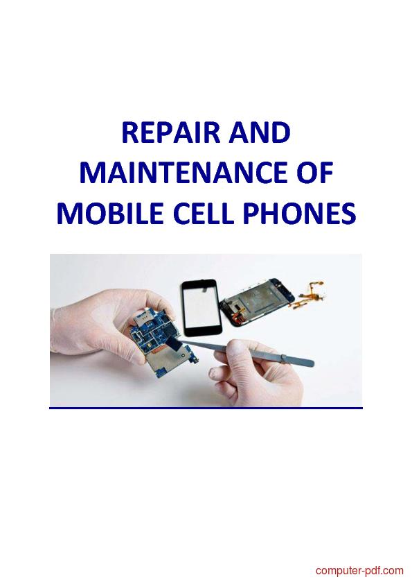 Tutorial Mobile Phone Repair and Maintenance 1