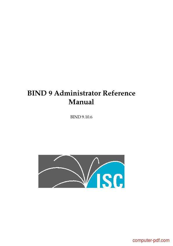 Tutorial BIND 9 Administrator Reference Manual