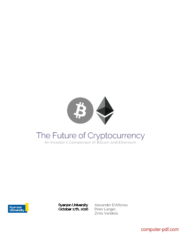 Tutorial The Future of Cryptocurrency 1