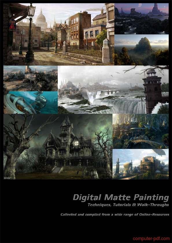 Tutorial Photoshop Digital Matte Painting 1
