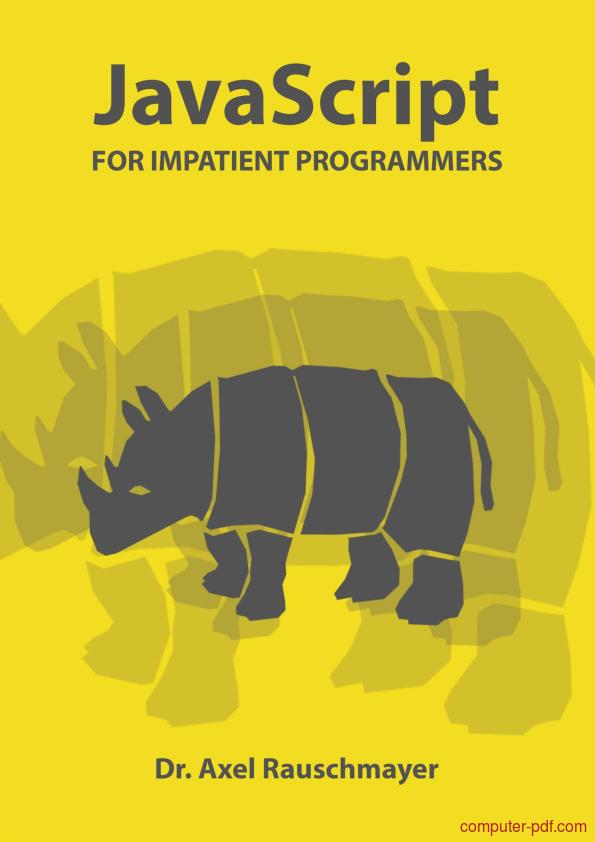 Tutorial JavaScript for impatient programmers